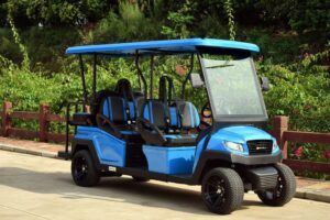 A private golf cart to help you move around on your own.